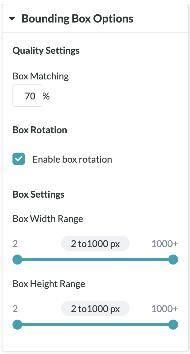 Guide to: Running a Bounding Box Job with Labels – Figure